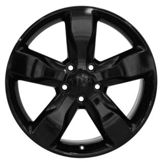 Jeep Grand Cherokee Black Wheels Set of 4 OEM 9107 Rims Goodyear Tires