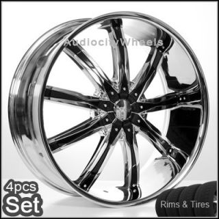 24 inch Wheels and Tires 300C Magnum Charger Rims