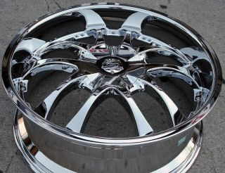 22 Chrome Rims Wheels Lexus GS300 sc400 GS400 22 x 8 5 5H 40