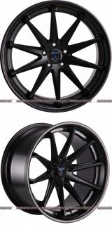 E320 E350 E500 E550 E55 Rohana RC10 Black Concave Wheels Rims