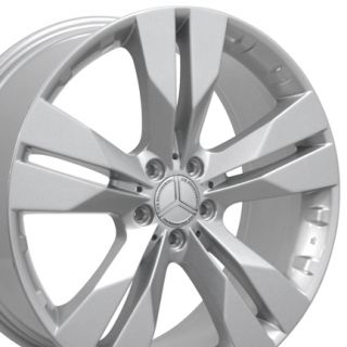 20 GL Class Style Silver Wheels Set of 4 Rims Fits Mercedes Benz 550