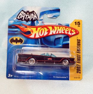 Vintage Hot Wheels Batmobile Batman Diecast Car Barris 1 64