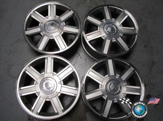 07 10 Cadillac Escalade ESV Ext Factory 18 Wheels Rims 5303