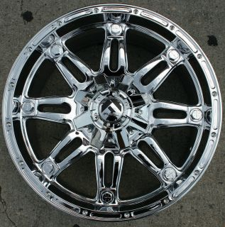 Fuel Hostage F503 20 Chrome Rims Wheels Tahoe Silverado 2WD 20 x 9 0
