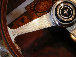 68 69 Mustang Wood Steering Wheel Nardi New Concours Condition