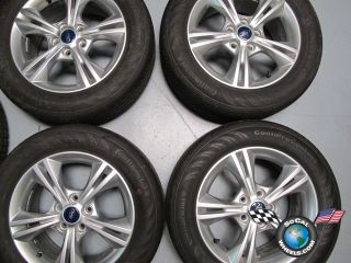 2012 Ford Focus Factory 16 Wheels Tires OEM Rims Continental 215/55/16