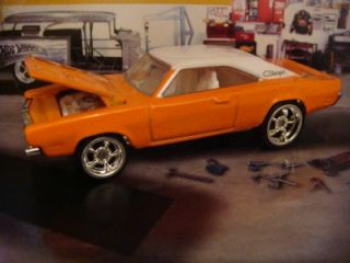 Hot Wheels 69 Dodge Charger 1 64 Scale Limited Edition 3 Detailed
