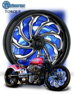 PM Performance Machine Torque Motorcycle Wheel Harley Streetglide