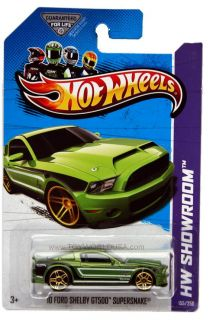 2013 Hot Wheels #155 HW Showroom Asphalt Assault 10 Ford Shelby GT500