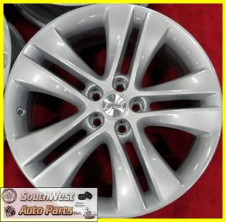 Chevy Cruze 18 5x105 Silver Wheel Factory Wheels Rims Set 5477