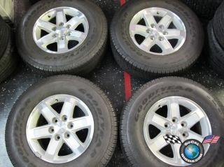 Four 99 12 GMC 1500 Sierra Yukon Denali Factory 17 Wheels Tires Rims