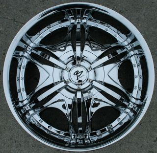 RVM 102 20 Chrome Rims Wheels Chevrolet Trailblazer