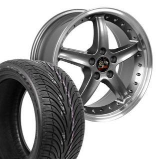 Gunmetal Cobra R Wheels Nexen Tires Rims Fit Mustang® 94 04