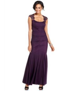 Xscape Dress, Sleeveless Back Cutout Gown   Womens Dresses