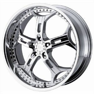 22 inch Helo HE834 Chrome Wheels 5x115 Dodge Charger