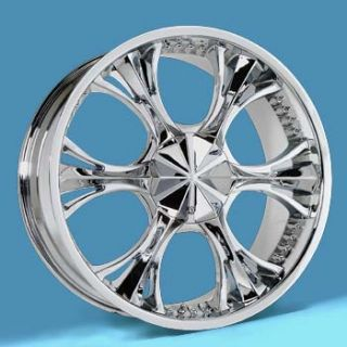 20 Verde Revolver Chrome Wheels 20x8 5 Truck Rims