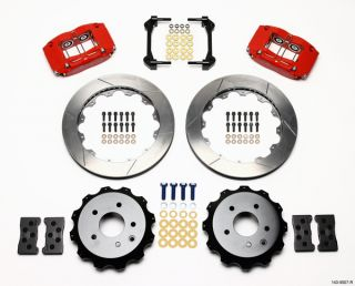 Wilwood Disc Brake Kit 03 07 Infiniti G35 Red Calipers