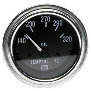 Stewart Warner Deluxe Electrical Oil Temperature Gauge