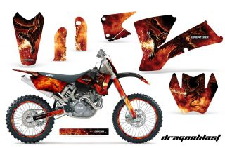 KTM 03 04 EXC XC 01 02 SX 125 250 450 525 520 Graphics Kit Creatorx