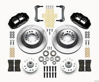 Wilwood Disc Brake Kit 70 78 GM 13 12 1 Piece Rotors 6 4 Piston
