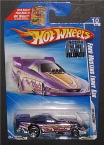 Hot Wheels Mustang Funny Car  Exclusive w Goodyear Tires