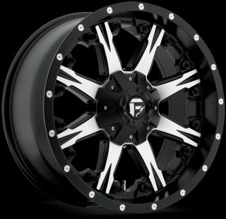 Fuel Nutz Black Machined 6x135 w 20 Et D54120909857 Wheels Rims
