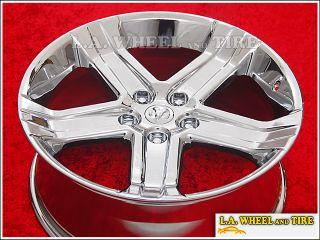 of 4 New 22 Dodge Ram 1500 SRT10 OEM Chrome Wheels Rims EXCHANGE 2388