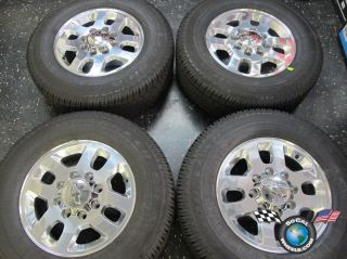Chevy HD 2500 HD2500 3500 Factory 18 Wheels Tires OEM Rims 8x180 5502