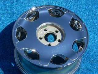 Cadillac DeVille DHS 2000 16 Factory Chrome Wheel