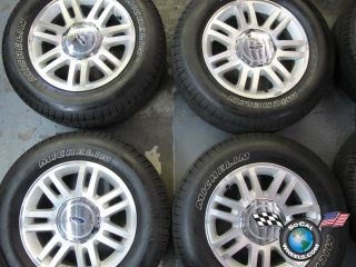 12 Ford F150 Factory 18 Wheels Tires OEM Rims Expedition 3784 Michelin