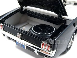 1964 1 2 Ford Mustang Convertible Black 1 18