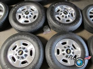 Chevy HD2500 Factory 17 Wheels Tires 8x180 OEM Rims Sierra Silverado