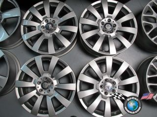 Four 10 12 Mercedes GLK Factory 19 Wheels Rims W204 2044011502