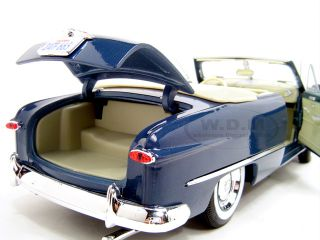 1949 Ford Convt Blue 1 18 Diecast Model Car