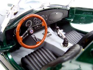 1964 Shelby Cobra 427 s C Green 1 18 Diecast Model Car