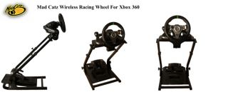 Steering Wheel stand, for Mad Catz Force Feedback Wheels. Xbox 360