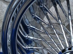 21X3 DNA MAMMOTH 52 SPOKE FRONT WHEEL FOR HARLEY SOFTAIL HERITAGE