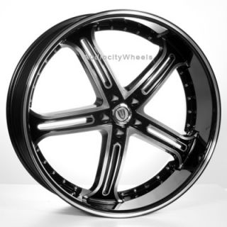 24inch VT226 Wheels Rims 300C Magnum Charger
