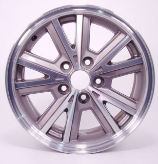 16 Ford Mustang Machined Gray Factory Wheel 3588