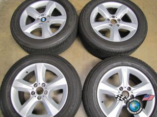 07 10 BMW X5 X6 Factory 18 Wheels Runflat Tires OEM Rims Style# 210