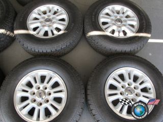 Ford F150 7 Lug Factory Alloys 17 Wheels Tires OEM Rims BFG 245/75/17