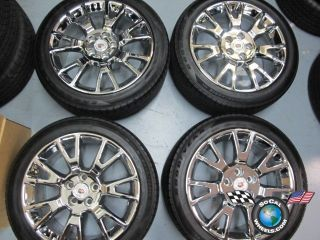 Cadillac cts Factory 19 Chrome Wheels Tires Rims 9597711 4671