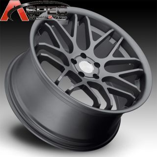 20 Staggered Eurotek UO06 Gun Metal 5x114 3 Wheel Fit Lexus SC430