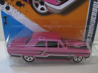 Hot Wheels Ford Thunderbolt  Pink Error 2012 Factory Master
