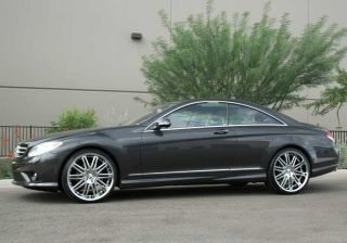 21 Mercedes S550 CL550 S600 CL600 Wheels Tires R221 Giovanna HRE