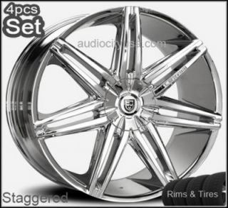 Johnson Wheels and Tires Escalade,Chevy,Ford,QX56,Ram,Rims Silverado
