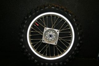 CRF150R CRF 150R CRF150 Rear Wheel Hub Rim Spokes