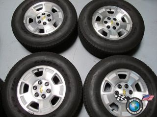 00 11 Chevy Tahoe Silverado Avalanche Factory 17 Wheels Tires Goodyear