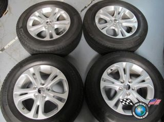 2011 Dodge Durango Factory 18 Wheels Tires Rims 2394 Michelin
