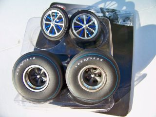 18 Set of 4 Acme Pure Heaven Altered Drag Racing Wheel Tire Set